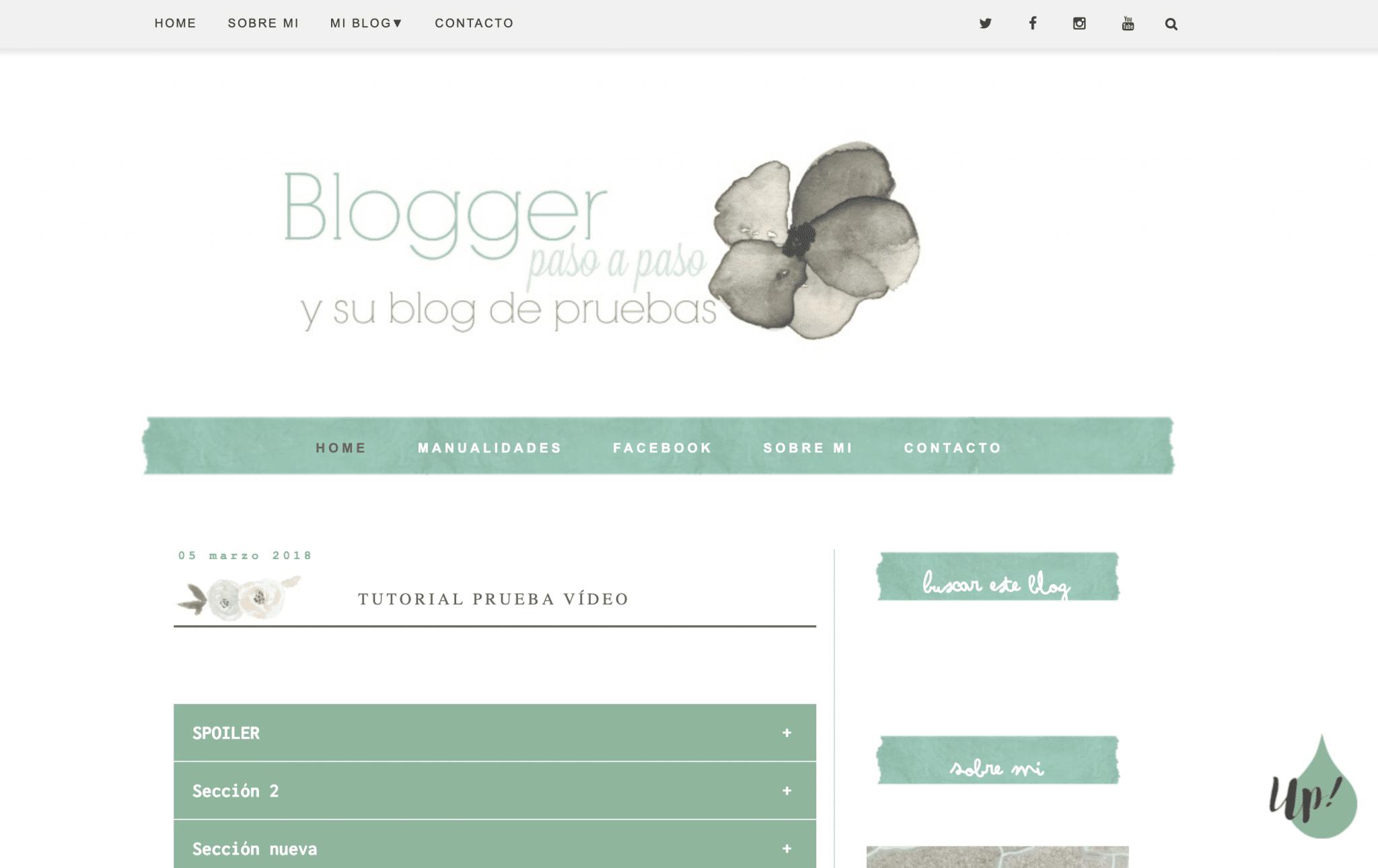 blog pruebas curso gratis crea tu blog desde cero paso a paso