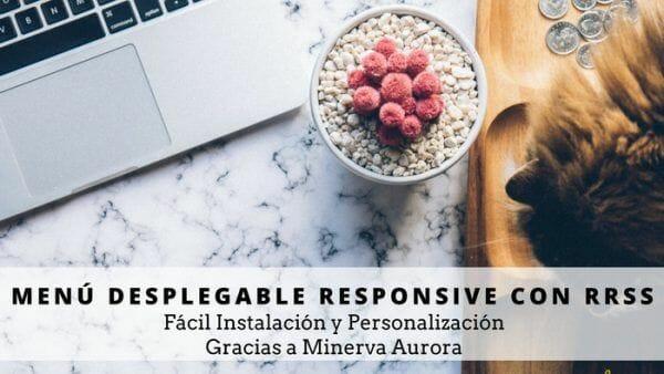 instalar menu desplegable responsive en blogger