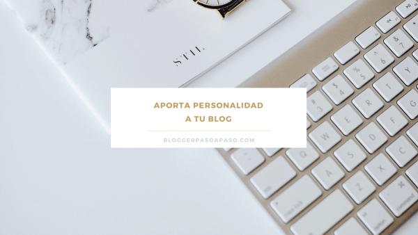plantillas gratuitas vs personalización de plantillas blogger APORTA PERSONALIDAD A TU BLOG