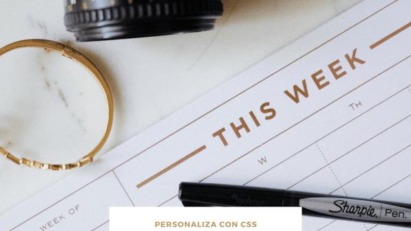 Estilos CSS para personalizar tus entradas