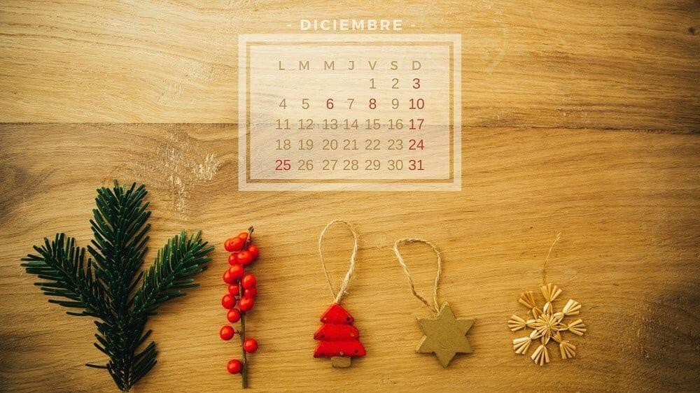 Fondo de escritorio Wallpaper navidad diciembre 2017