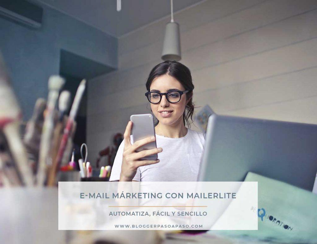 Mailerlite con tu Blog o Web 🚀 E-mail MÁRKETING ⭐ Tutorial paso a paso