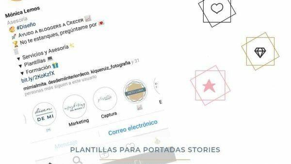 plantillas instagram stories destacadas