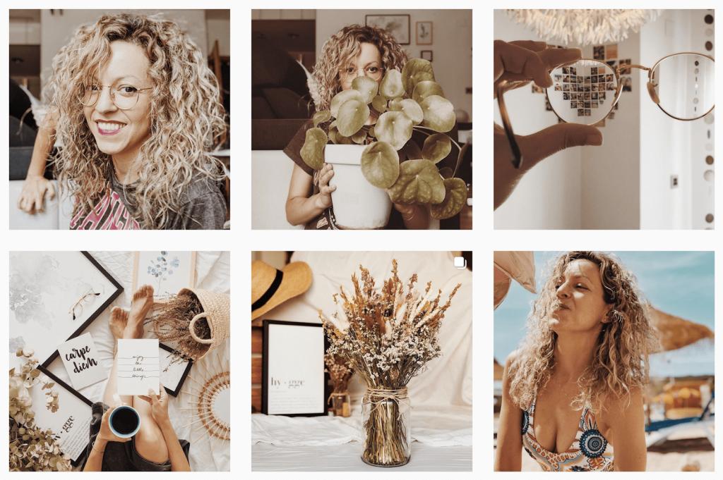 como conseguir un feed de instagram bonito suavecalifornia Vanessa