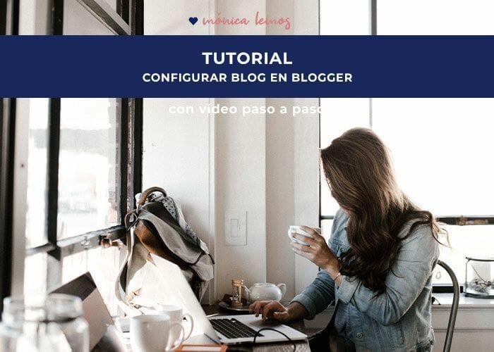 configuración plantilla blogger