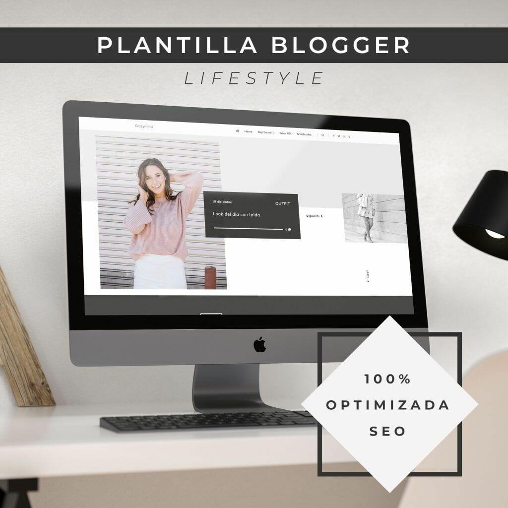 plantilla blogger minimalista