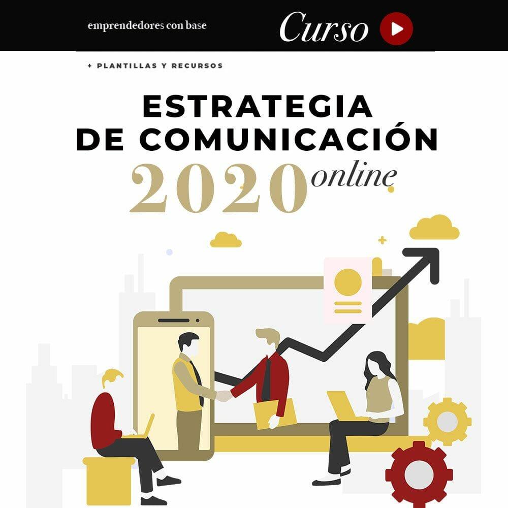 curso estrategia de comunicación anual