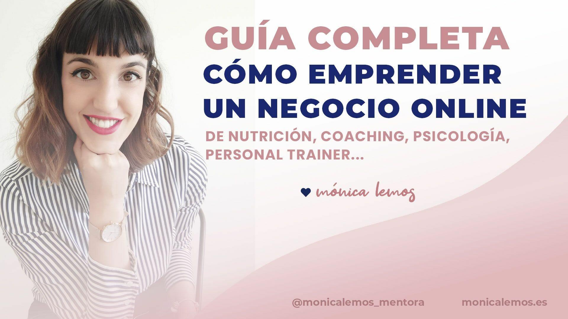 [Guía Completa] Emprender un Negocio Online como nutricionista, coach, psicóloga o experta en salud