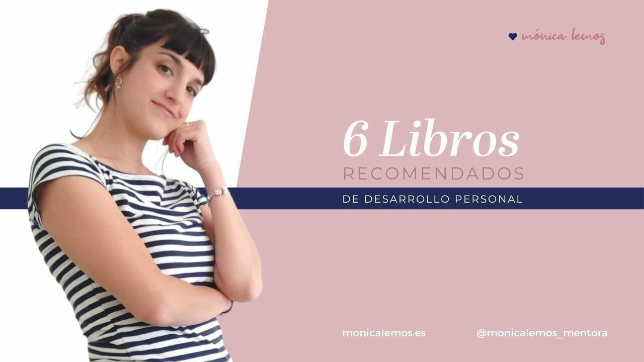 6 LIBROS DE DESARROLLO PERSONAL IMPRESCINDIBLES